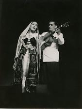 La soprano péruvienne Yma Sumac VintageYma Sumac, née Zoila Augusta Emperatriz