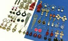Fashion Earring LOT Pierced Dangle Tassel Pearl Rhinestone Gold Silver PL C17K