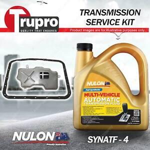 SYNATF Transmission Oil + Filter Service Kit for Subaru Forester SH Impreza WRX