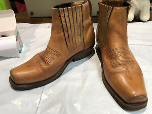 Mens Shoes Loelan Size Uk 8 Colour Brown