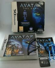 Avatar: The Game Big Box with Figure Video Game for Nintendo DS TESTED