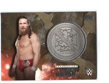 WWE Daniel Bryan 2016 Topps Commemorative Medallion GOLD Relic Card SN 10 of 10
