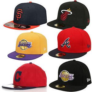 New Era Cap 59Fifty New York Yankees NY LA SF C NBA MLB Lakers Baseballcap Kappe