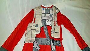 Star Wars X-Wing Fighter Pilot Boys Halloween Costume Medium M