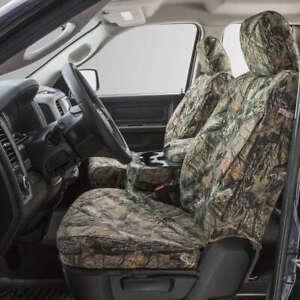 Covercraft Custom SeatSavers Carhartt Duckweave Front & 2nd Row - Mossy Oak Camo