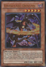 YuGiOh Darkflare Dragon - SDDC-EN002 - Ultra Rare - 1st Edition Near Mint