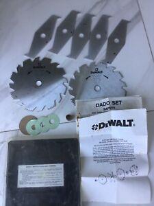 Dewalt dado cutter set, woodworking, tools, saw.