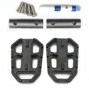 Extension Enlarge Black Rear Foot Brake Pad Plate Pedal Peg For BMW G310GS 2018