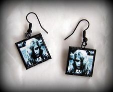 Handmade Night Of The Living Dead Zombie Girl Polymer Clay Charm Earrings NEW