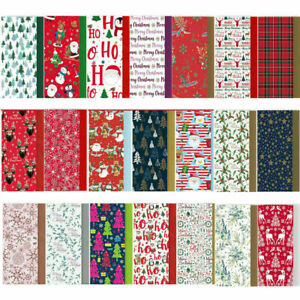 8 Sheets Christmas Tissue Paper Acid Free Large Luxury Xmas Gift Wrapping 50X70