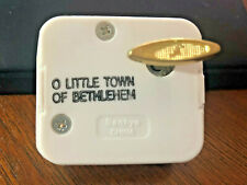 Sankyo Music Box China - O Little Town of Bethlehem