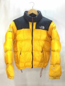 The North Face Down Jacket 800FILL LHOTSE Yellow ND51706Z Unisex Size 90#M8669