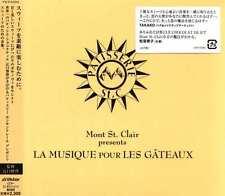 Mont St. Clair La Musique Pour Les Gateaux Japan CD-NEW