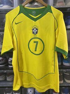 Nike Brazil Ronaldinho Home Jersey / shirt Confecup 2014 sz M Mint Brasil