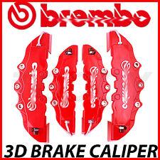 For Chevrolet 4pcs Red Disc Racing Brake Caliper Cover Kit # 16-18 inch wheels