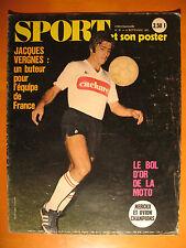 SPORT N° 31 du 8/9/1971-Le Bol d-Or de la moto-J. Vergnes,un buteur pour l'équip