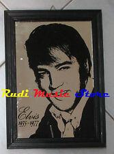 ELVIS PRESLEY Specchio Grande Mirror 24X34 CM vintage anni 70 lp cd dvd mc vhs