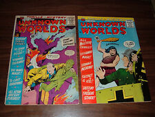 Unknown Worlds 5-57----lot of 31 comic books