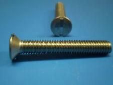 5 Schrauben + U-Scheiben + Muttern DIN 963 V2A M4 x 70 mm  ISO 2009
