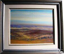 "Brian Stratton original oil painting titled ""Tumut"" Australia"