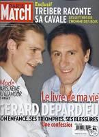 Paris Match Magazine Gerard Depardieu Anna Wintour Jacques Dutronc Sumatra 2009