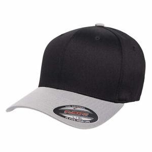 FLEXFIT Structured Twill Hat FITTED Size S/M L/XL 2XL Sport Baseball Cap 6277