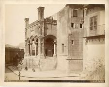 Italie, Palerme, Palermo, Sicile, chiesa della Catena  Vintage albumin print,