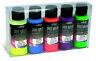 Vallejo Premium Color 60ml Fluorescent Colours  Set (5 x 60ml) # 62102