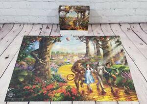 WIZARD OF OZ 75th Anniversary Thomas Kinkade 1000 Puzzle 27x20 Missing 1 Piece