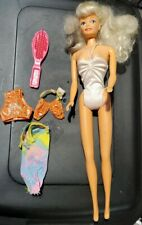1993 Lucky Inc. Co. Made In China 211253a 12in Barbie Clone doll Blonde w clothe