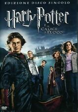 HARRY POTTER E IL CALICE DI FUOCO Edizione Disco Singolo DVD ITA