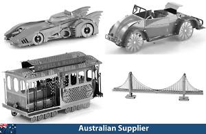 3D Metal Model Kits, Laser Cut, Iconic Cars!!