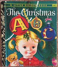 The Christmas ABC ~ Vintage Little Golden Book Sydney #289 ~ Eloise Wilkin