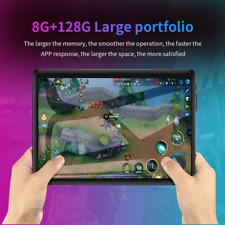 "10.1"" Tablet PC Android 10.0 8+128GB Dual SIM 4 Camera WiFi G-Sensor Phablet"