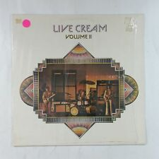 CREAM Live Volume II 2383119 UK LP Vinyl VG+ Cover Shrink
