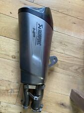 BMW S1000R Akrapovic exhaust silencer