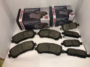Front and Rear Brake Pads Fits Nissan Qashqai 1.5 1.6 2.0 2007-2014
