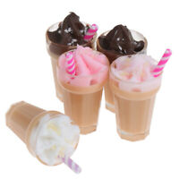 1:12 Dollhouse Miniature Simulation Drink Milkshake Model Accessories T_B Jx
