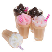 1:12 Dollhouse Miniature Simulation Drink Milkshake Model Accessories T_B Hs
