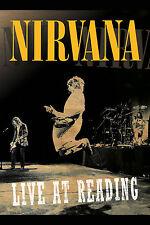 """Grunge: Nirvana """" Live at Reading """" Reading Festival U.K. Concert Poster 1992"""