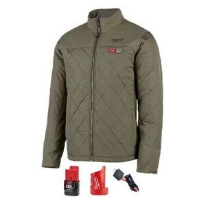 MILWAUKEE TOOL M12™ Heated AXIS™ Jacket Kit 203OG-21 (OLIVE GREEN)