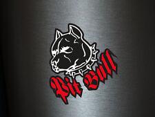 1 x Aufkleber Pitbull Pit Bull Hund Dogge Kampfhund Sticker Tuning Static Stance