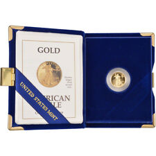 1992-P American Gold Eagle Proof (1/10 oz) $5 in OGP