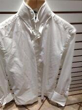 """D'ALTERIO White Men's Long Sleeved Dinner Shirt Size Collar 15.5"""" 39.5cm"""