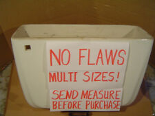NO FLAWS MULTI SIZES! WHITE American Standard toilet tank F4049 4049 3.5 g WHITE