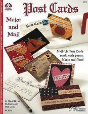 Post Cards to Make and Mail: Mailable Post Cards Made with Paper, Fabric and Flo