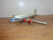 VINTAGE JAPAN PAN AMERICAN WORLD AIRWAYS # N10317 TIN & LITHO 4 MOTOR AIRPLANE