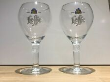 2 X Leffe 33cl LEFFE Belgian Beer Glasses Chalices Ritzenhoff  New Collectable