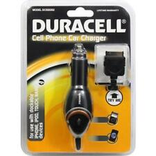 DURACELL CAR CHARGER DCSS5352 IPHONE, IPAD, IPOD, TOUCH AND NANO NEW FREE SHIP!