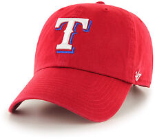 Texas Rangers 47 Brand Clean Up Adjustable Hat Baseball Cap Red